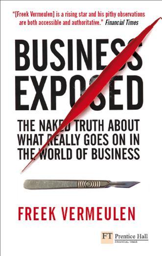 Best Business Book Covers : Books freek vermeulen